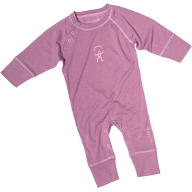 Isbjörn Husky Jumpsuit Baselayer Spedbarn dusty pink